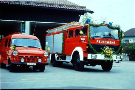 Florian Ostermünchen 40/1 bei der Einweihung 1989