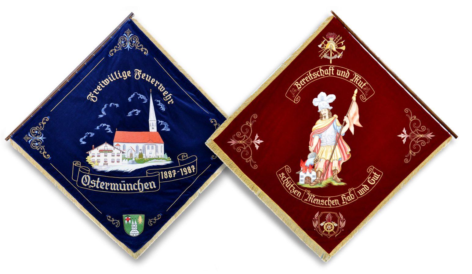 Vereinsfahne von 1987