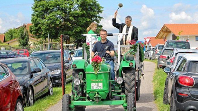 Fahrzeugsegnung Sommerfest 2016