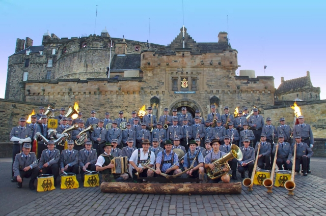 Edinburgh Military Tattoo 2011 (Quelle: Bundeswehr/Kempe)