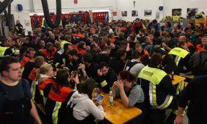 Die ca. 190 Beteiligten bei der Nachbesprechung
