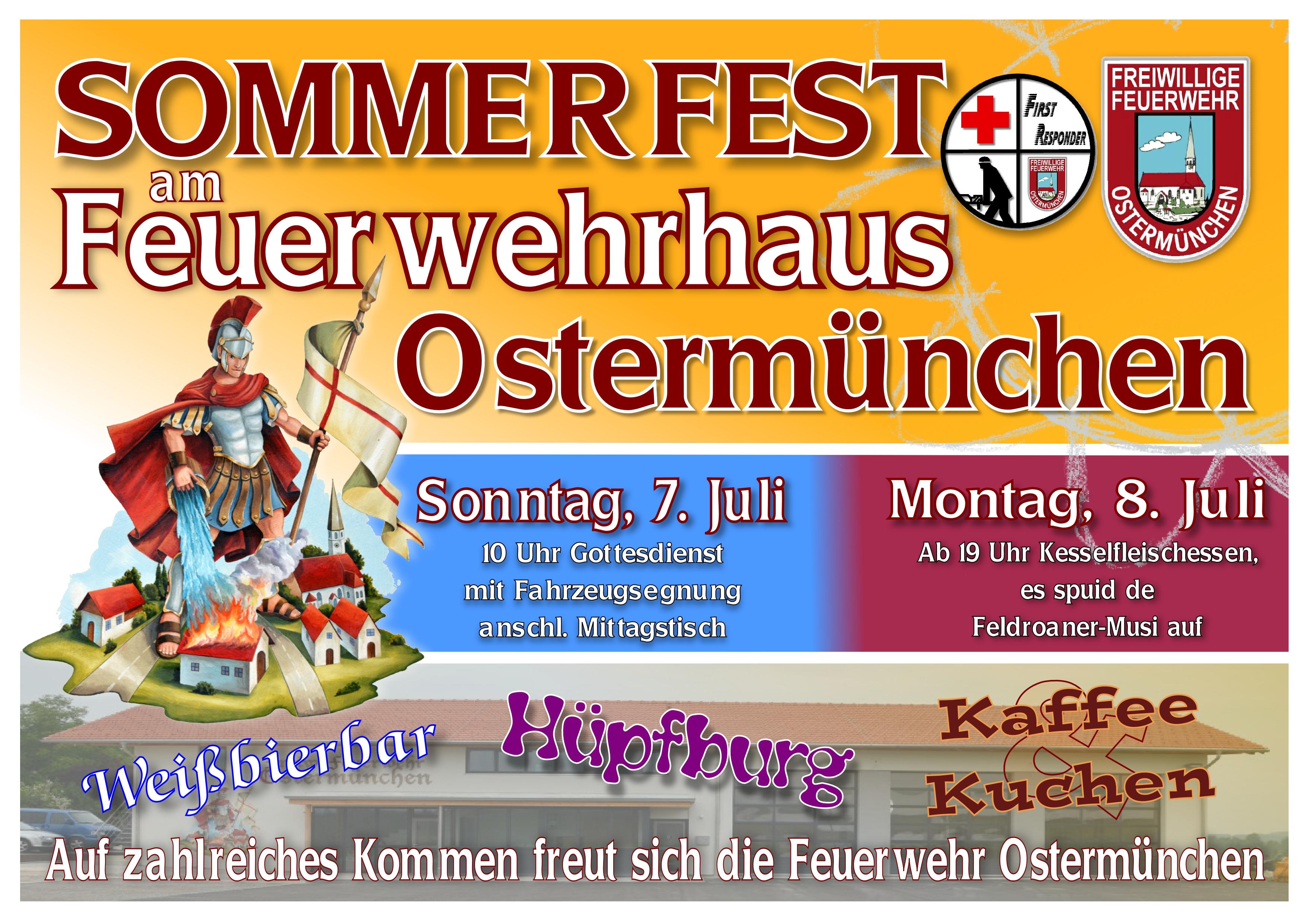 Plakat Sommerfest 2019 quer